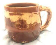 CLAYS IN CALICO Cardwell Montana Carmel Brown Art Pottery