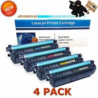 CF360X Toner for HP 508X Color LaserJet MFP M577 M552 M553 M553dn | 4 Pack Set