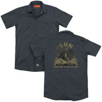 Sun Records SUN ROOSTER Licensed Adult Dickies Work Shirt All Sizes