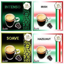100 Capsules Compatible Nespresso machines! INTENSO,SOAVE,IRISH,HAZELNUT. 1-3Day