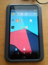 """Nook HD Tablet BNTV400 Android 7.1.2 7"""" 8GB with cable and charger Bundle"""