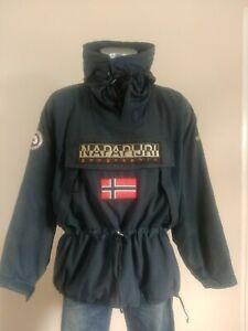 Napapijri VOYAGE Skidoo Pullover Ski Jacket In Navy (Men's XL) rrp £279 when new