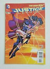 New listing Justice League #12 New 52 Dc 2012 1st Print Jim Lee ~ Superman Wonder Woman Kiss
