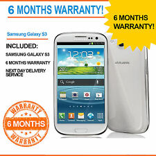 Samsung Galaxy S III GT-I9300 - 16 GB - Marble White (Unlocked) Smartphone