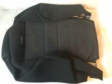 VW Golf Mk4 Recaro Black Seat Backrest Cloth Cover 1J0 881 805 EQ KLZ 1J0881805