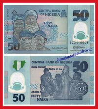 NIGERIA 50 Naira 2016 (2017) Pick 40f SC / UNC