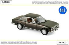 Peugeot 504 Coupé 1969 Brown metallic  NOREV - NO 475433 - Echelle 1/43