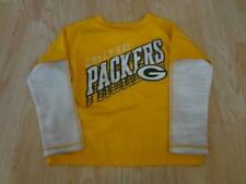 Youth Green Bay Packers S (4) L/S Athletic Shirt Tee