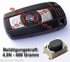 Taster für Fernbedienung Schlüssel key fob BMW Mikroschalter 4N Betätigungskraft