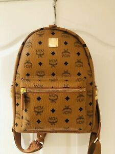 MCM Stark Studded Small Backpack