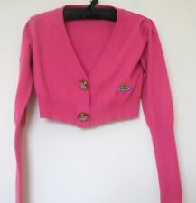 "Vivienne Westwood ""Red Label"" Pink Cropped Cardigan - Approx size 8-10"