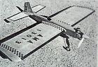 "Jim Saftig's ZILCH ""X"" PLAN + Jim's Article for 50"" OT UC Stunt Model Airplane"