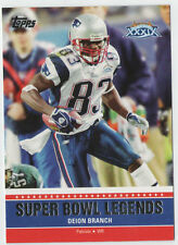 2011 Topps Super Bowl Legends #39 Deion Branch New England Patriots