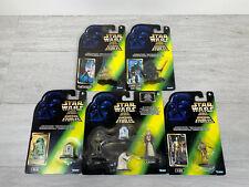 Star Wars DIE CAST METAL COLLECTIBLES Bundle X5 MINT ON CARD Kenner 1996 Joblot