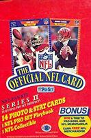 1989 Pro Set 1 & 2 Football Team Set Football Cards Pick From List