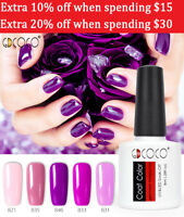 Gdcoco Nail Art Make Up Nail Gel Polish Soak Off UV Lamp Base Top Colors Lacquer