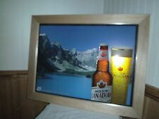 Molson Canadian Lager Beer Bar Mirror Sign  21 MEANS 21 2007