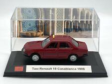 Taxi Renault 18 Casablanca / Maroc 1986 1/43