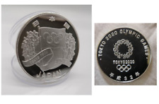 Japan Tokyo 2020 Olympic Games Silver Plated Coin 1oz Rio 2016 new airtite rare