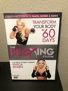 The Piloxing System - 5-DVD Set Only Viveca Jensen Workout