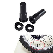 Rim Lock Nut Spacer Kit Black Fit CRF YZF KXF RMZ CR YZ KX RM 85 125 250 450