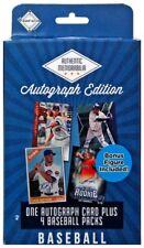 Fairfield Baseball Authentic Memorabilia Autograph Edition Trading Card Box