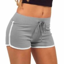 Women Sports Yoga Shorts Workout Fitness Female Running Sport Shorts Cotton High