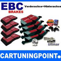 PASTIGLIE FRENO EBC VA + HA BLACKSTUFF PER BMW 1 F20 dpx2105 dpx2132