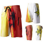 Fox Racing Mens Rockstar Energy Drink Faded Boardie Board Shorts Size 30-38