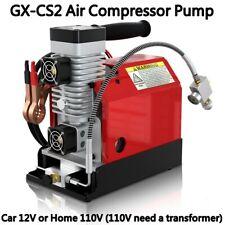 GX PCP PUMP 30MPA 4500PSI High Pressure Air Compressor PCP Airgun Scuba Air Pump