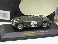 Ixo 1/43 - Jaguar Tipo C Nº22 Le Mans 1951