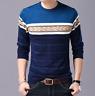 Sueteres Para Hombre Ropa Moda Casual Para Hombres Camisa Sweater Pullover Cotto