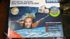 Intex Krystal Clear Saltwater System CS-8110 (15,000 gallons)
