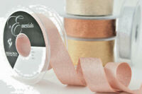 Berisfords Metallic Glitter Sparkly Lame Ribbon 3 7 15 25 40 mm Widths.