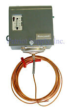HONEYWELL L480B1239 Freeze Stat, 20°F - 60°F 1 SPDT, 20 ft. Capillary 10°F Diff.