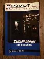 BATMAN BEGINS AND THE COMICS SEQUART.COM FILM SERIES NOVEL JULIAN DARIUS 2005