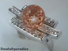 Bildschöner und Hochwertiger Silberring aus 925 Silber mit Citrin