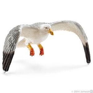 NEW SCHLEICH 14720 Seagull Bird - Coastline RETIRED