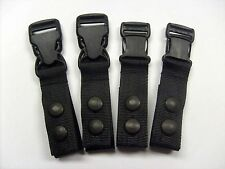 "Police Gun Tactical Black Duty Belt Suspenders 1 1/2"" straps BMP 911 Security"