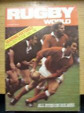 01/09/1981 Rugby World Magazine: September Edition - Complete Issue of the month
