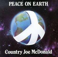 1 CENT CD Peace on Earth - Country Joe McDonald GERMANY IMPORT/FOLK-ROCK