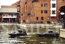 Set of 5 photos: JAMES BOND 007 Stunt Team in The World Is Not Enough boat chase