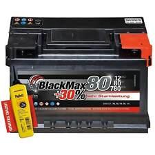 Autobatterie 12V 80Ah 780 A/EN BlackMax80 ersetzt 70Ah 72Ah 74Ah 75Ah