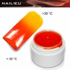 Uv Thermo Gel 01 Orange - Yellow 5ml / Nail Gel Colorgel Thermo Gel Color Gel
