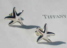 Tiffany & Co Elsa Peretti Large Starfish Sterling Silver Earrings