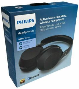 Philips H8505BK Kopfhörer Bluetooth ANC Over-Ear Kabellos 8000 Series High Res