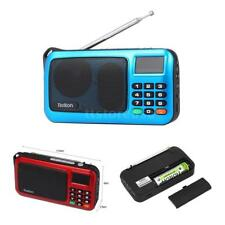 Rolton W405 FM Stereo Radio Digital LED Receiver AUX/USB/TF MP3 Music Speaker