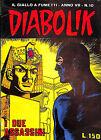 [755] DIABOLIK ed. Astorina 1968 Anno VII n. 10 stato Ottimo