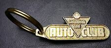 Vintage Canadian Tire Auto Club Keychain - Emergency Road Service - Combined S/H