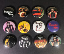 "Mercyful Fate 1"" PIN BUTTON lot King Diamond Heavy Metal Melissa"